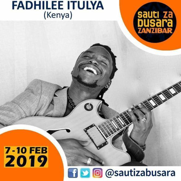 Fadhilee Itulya on Sauti Za Busara 2019 poster