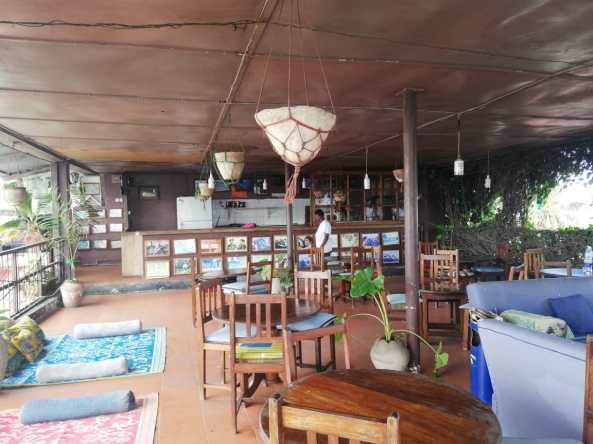 Malindi Guest House Zanzibar rooftop lounge